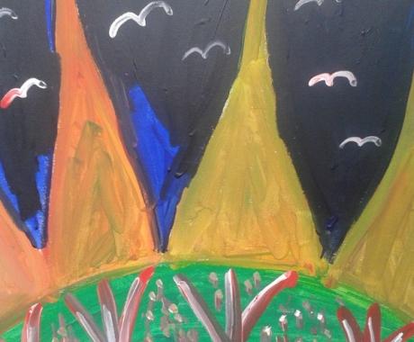 Die Pinienbäume