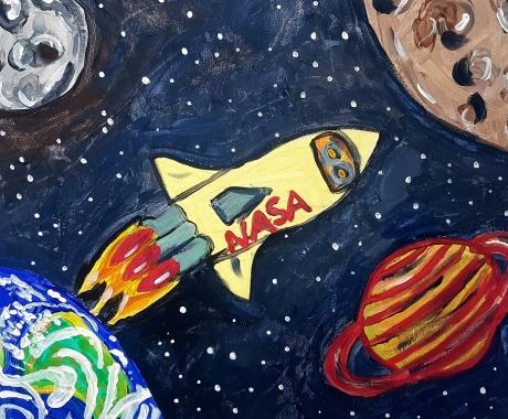 Unterwegs zum Mars